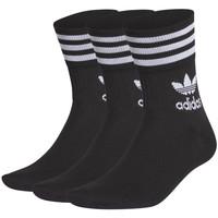 Accessoires Sokken adidas Originals Mid cut crw sck Zwart