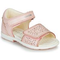 Schoenen Meisjes Sandalen / Open schoenen Geox B VERRED Roze