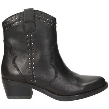Schoenen Dames Enkellaarzen Carmela BOTINES  67387 MODA JOVEN NEGRO Noir