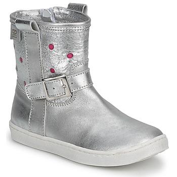 Schoenen Meisjes Laarzen Pinocchio  Zilver / FUCIA