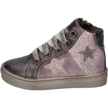 Schoenen Meisjes Sneakers Asso sneakers pelle sintetica glitter bronzo