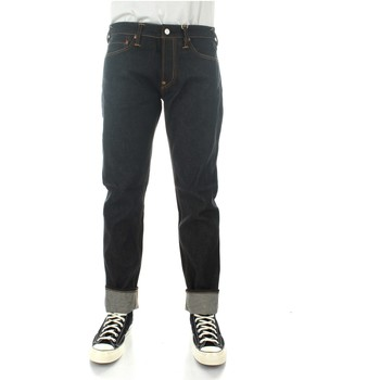Textiel Heren Straight jeans Evisu 1EAHTM9JE10310 Indigo (raw)