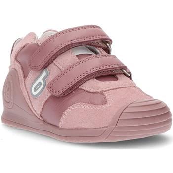 Schoenen Kinderen Lage sneakers Biomecanics BABY MEISJES SPORT MARLON SCHOENEN KAASJESKRUID