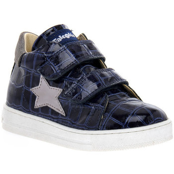 Schoenen Meisjes Lage sneakers Naturino FALCOTTO 2C06 SASHA BLEU Blu