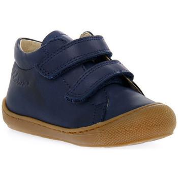 Schoenen Jongens Lage sneakers Naturino 0C02 COCOON VL NAPPA NAVY Blu