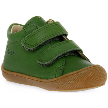 Schoenen Jongens Lage sneakers Naturino F06 COCOON VL NAPPA KAKY Verde