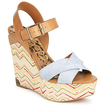 Schoenen Dames Sandalen / Open schoenen Sam Edelman SASHA Denim - Washed