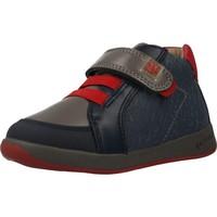 Schoenen Jongens Hoge sneakers Garvalin 201332 Blauw