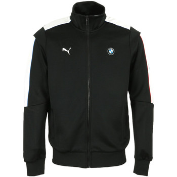 Textiel Heren Trainings jassen Puma BMW MMS T7 Track Jacket Zwart