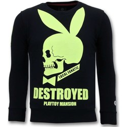 Textiel Heren Sweaters / Sweatshirts Local Fanatic Luxe Destroyed Playtoy Blauw