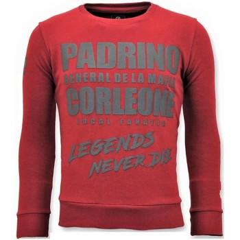 Textiel Heren Sweaters / Sweatshirts Local Fanatic Stoere Padrino Corleone Rood