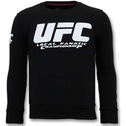 Textiel Heren Sweaters / Sweatshirts Local Fanatic Luxe UFC Championship Zwart