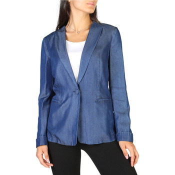 Textiel Dames Jasjes / Blazers Armani - 3y2g1r2d26z Blauw