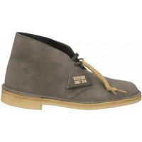 Schoenen Heren Laarzen Clarks DESERT BOOT M slate-grey