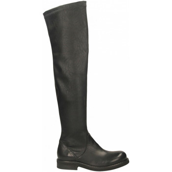 Schoenen Dames Laarzen Mat:20 WEST/STRECH nero