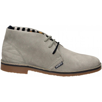 Schoenen Heren Klassiek Submariine London NEW MANCHESTER SUEDE 04-ciment-deep