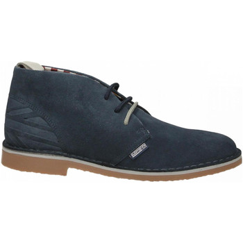 Schoenen Heren Klassiek Submariine London NEW MANCHESTER SUEDE 01-flag-ciment