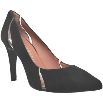 Schoenen Dames pumps Brenda Zaro F3779 Velvet zwart
