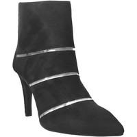 Schoenen Dames Enkellaarzen Brenda Zaro F3436 Velvet zwart