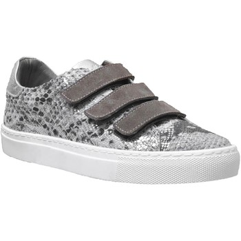 Schoenen Dames Lage sneakers K.mary Clany Taupe metallic leer