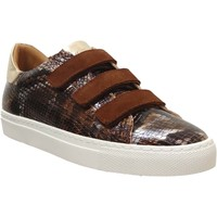 Schoenen Dames Lage sneakers K.mary Clany Bruin / goud leer