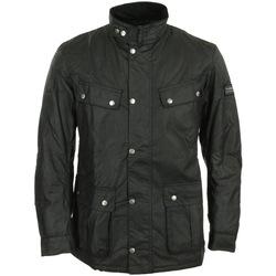Textiel Heren Parka jassen Barbour International Duke Wax Jacket Zwart