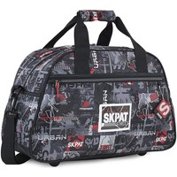 Tassen Jongens Handtassen kort hengsel Skpat URBAN Kind Gym Bag Zwart