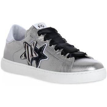 Schoenen Dames Lage sneakers Nero Giardini NERO GIARDINI  115 SUNRISE ACIAIO Grigio