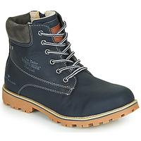 Schoenen Jongens Laarzen Tom Tailor 70502-NAVY Marine