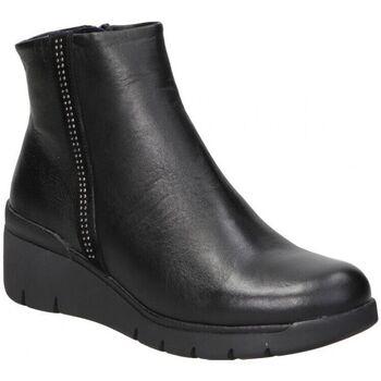 Schoenen Dames Enkellaarzen Dorking BOTINES  D8449 SEÑORA NEGRO Noir
