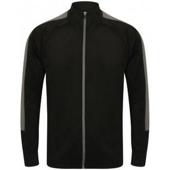 Textiel Heren Sweaters / Sweatshirts Finden & Hales  Zwart/Gunmetaalgrijs