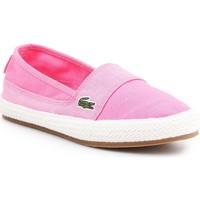 Schoenen Dames Espadrilles Lacoste Marice 7-35CAW004213C pink