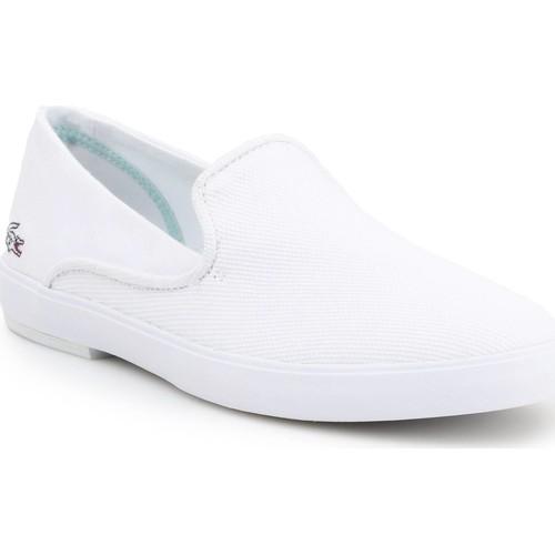 Schoenen Dames Instappers Lacoste Cherre 7-31CAW0106001 white