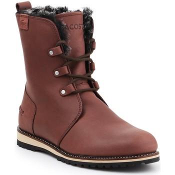 Schoenen Dames Laarzen Lacoste Baylen 7-30SRW4100078 brown