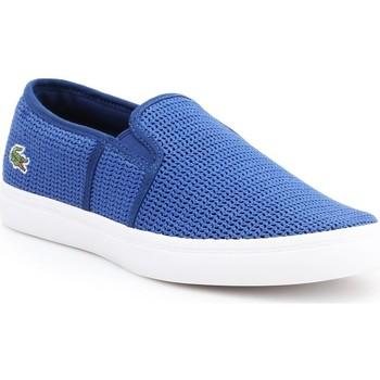 Schoenen Dames Instappers Lacoste Gazon 7-33CAW1074125 blue