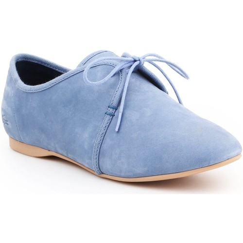 Schoenen Dames Derby Lacoste Torpel 7-25LEW2008125 blue