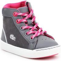 Schoenen Kinderen Hoge sneakers Lacoste Explorateur 7-32CAI1001248 grey