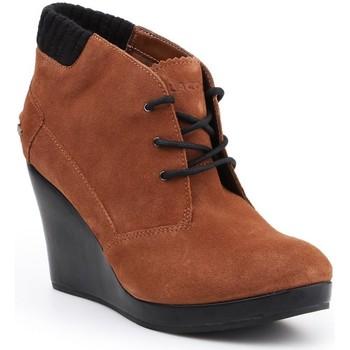 Schoenen Dames Low boots Lacoste Leren 7-26SRW4204013 brown