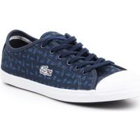 Schoenen Dames Lage sneakers Lacoste Ziane 7-31SPW0038003 navy