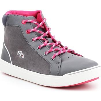 Schoenen Dames Hoge sneakers Lacoste Explorateur MID 7-32CAJ1001248 grey, pink