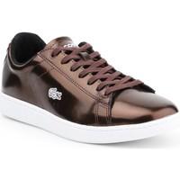 Schoenen Dames Lage sneakers Lacoste Carnaby Evo 7-30SPW4110DB2 brown