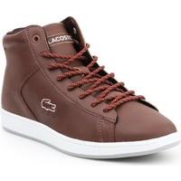 Schoenen Dames Hoge sneakers Lacoste Carnaby EVO 7-30SPW411377T brown