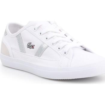 Schoenen Dames Lage sneakers Lacoste Sideline 7-37CFA004321G white