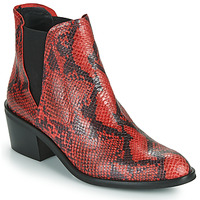 Schoenen Dames Laarzen Fericelli NIAOW Zwart / Rood