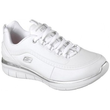 Schoenen Dames Indoor Skechers SYNERGY 2.0 12363 Wit