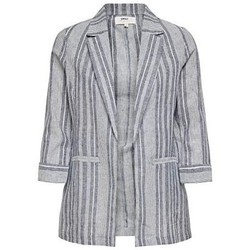 Textiel Dames Jasjes / Blazers Only copy of Onlpaloma-Canyon Stripe Life Blazer TLR 15199756 Blauw