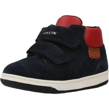 Schoenen Jongens Laarzen Geox B NEW FLICK BOY Blauw
