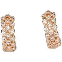 Horloges & Sieraden Dames Oorbellen Luna Collection 50051 goud