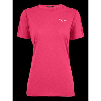 Textiel Dames T-shirts korte mouwen Salewa Pedroc 3 DRY W S/S TEE 27726-6385 pink
