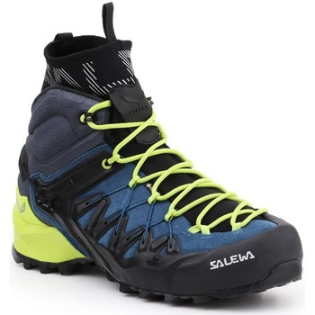 Schoenen Heren Wandelschoenen Salewa MS Wildfire Edge MID GTX 61350-8971 navy , green